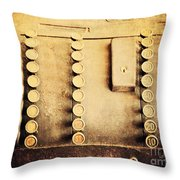 The Root Of All Evil Throw Pillow