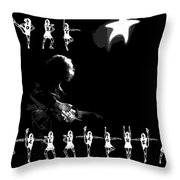The Rory Rockettes Throw Pillow