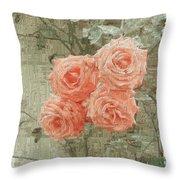 The Rose 2 Throw Pillow