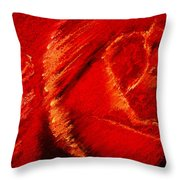 The Rose II Throw Pillow