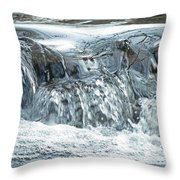 The Rough With The Smooth  Throw Pillow