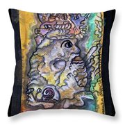 The Royal Potato Kcritter Throw Pillow