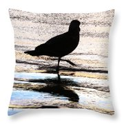 The Royal Society For Protection Of Birds Throw Pillow
