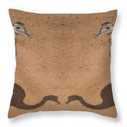 The Same Here Throw Pillow