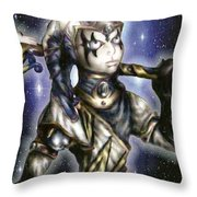 The Sapphire Of Fate Throw Pillow