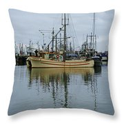 The Savoy Throw Pillow