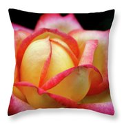 The Scent Of A Rose Throw Pillow