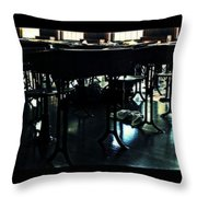 The School Room  Throw Pillow