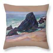 The Seal Rock March Throw Pillow