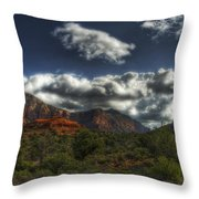 The Serenity Of Sedona  Throw Pillow