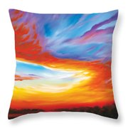 The Seventh Day Throw Pillow