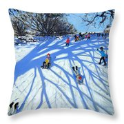 The Shadow Derbyshire Throw Pillow