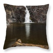 The Shallows Waterfall 2 Throw Pillow