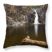 The Shallows Waterfall 3 Throw Pillow