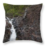 The Shallows Waterfall 4 Throw Pillow