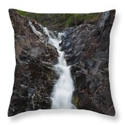 The Shallows Waterfall 5 Throw Pillow