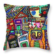 The Shelter Tree Throw Pillow