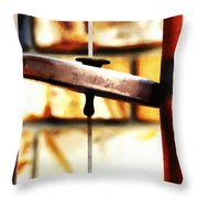 The Silence Of Calm Throw Pillow