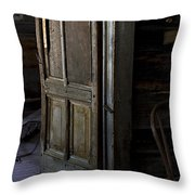 The Sled Closet Throw Pillow