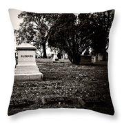 The Sleeper Family Throw Pillow