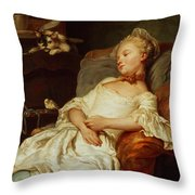 The Sleeper Throw Pillow