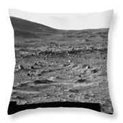 The Slopes Of Husband Hill Throw Pillow