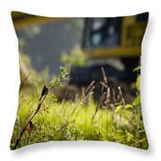 The Song Of Loss Throw Pillow