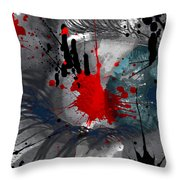 The Sour Sting  Throw Pillow