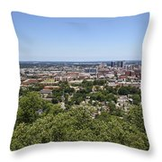The Southern City Of Birmingham Alabama Throw Pillow