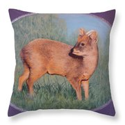 The Southern Pudu Throw Pillow