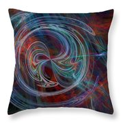 The Spark Of Life Throw Pillow