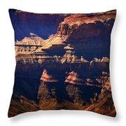 The Spectacular Grand Canyon Throw Pillow