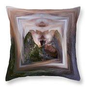 The Spirit Of Four Seasons Throw Pillow