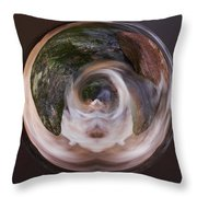 The Spirit Of Liesijoki Throw Pillow