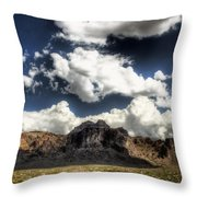 The Splendor Of The Superstitions Throw Pillow