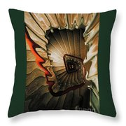 The Staircase Throw Pillow