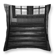 The Stairway Throw Pillow