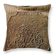 The Stamp Act Throw Pillow