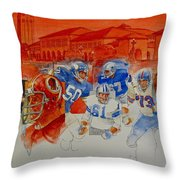 The Stanford Legacy  2 Of 3 Throw Pillow