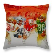 The Stanford Legacy  3 Of 3 Throw Pillow