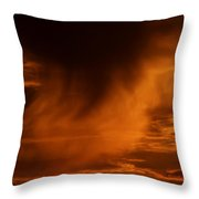 The Storm Is Brewing Throw Pillow