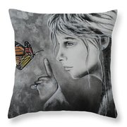 The Story Of Me Throw Pillow