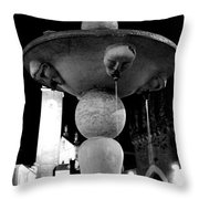 The Strange Fountain Throw Pillow