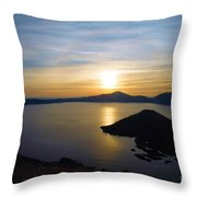 The Sun And The Wizard Throw Pillow