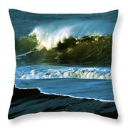 The Surf Motel Throw Pillow