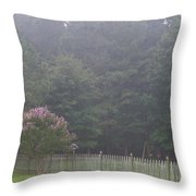 The Swing Set Throw Pillow