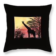 The Tall One Throw Pillow