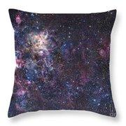 The Tarantula Nebula Throw Pillow