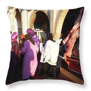 The Temptation Of The Flesh Throw Pillow