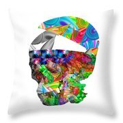The Thought Escapes Me Throw Pillow